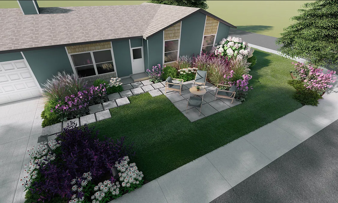 Need planting design help? Home Outside's Garden Bed Design service to the rescue!