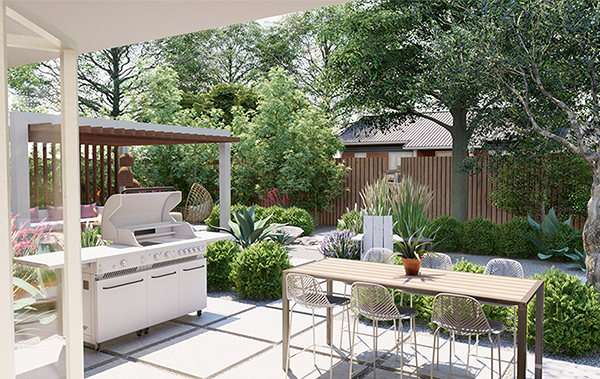 Home-Outside_Landscape-Design-Consultation_Texas-outdoor-dining-grilling-area